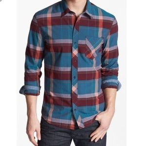 1901 Plaid Long Sleeve Button Up